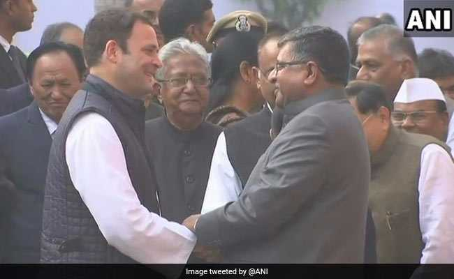 rahul gandhi ravi shankar prasad twitter