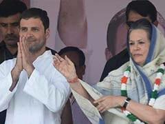 Rahul Gandhi Will Lead Congress With Courage, Dedication: Sonia Gandhi