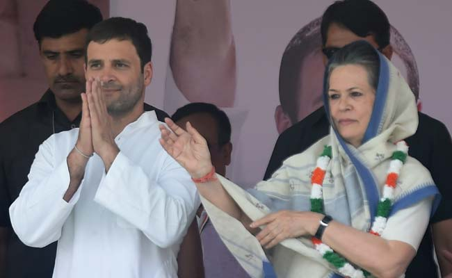 Rahul Gandhi Will Lead Congress With Courage, Dedication: Sonia Gandhi