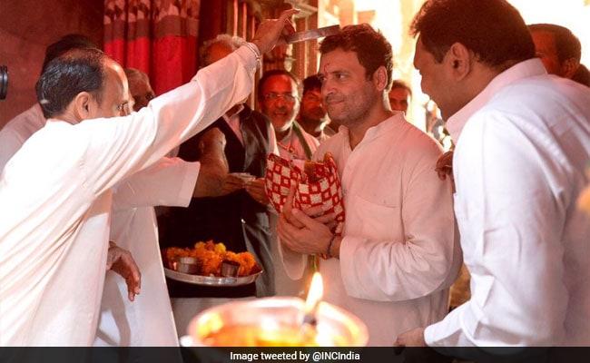 येदियुरप्पा का आरोप, चिकन खाकर राहुल गांधी ने किए नरसिम्हा स्वामी के दर्शन