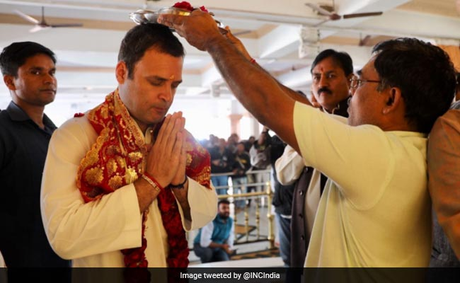 Rahul Gandhi Forced To Visit Temples For Votes: Union Minister Giriraj Singh