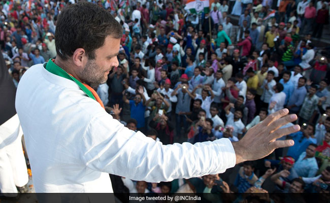Rahul Gandhi Unchallenged, Set To Be New Congress President