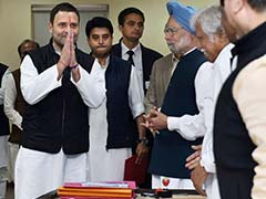 Rahul Gandhi Set To Take Over As Congress President On December 16