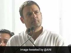 Modi-ji Only Talks About Modi-ji Because..: Rahul Gandhi's Swipe At BJP