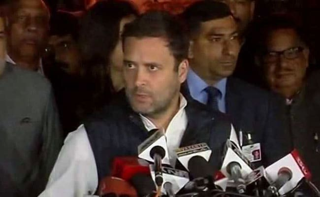 We Will Win 135 Seats in 2022 Gujarat Assembly Elections: Rahul Gandhi