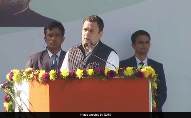 राहुल गांधी का बतौर कांग्रेस अध्यक्ष पहला भाषण, बीजेपी पर किए करारे वार, बोले- वे आग लगाते हैं : 10 खास बातें