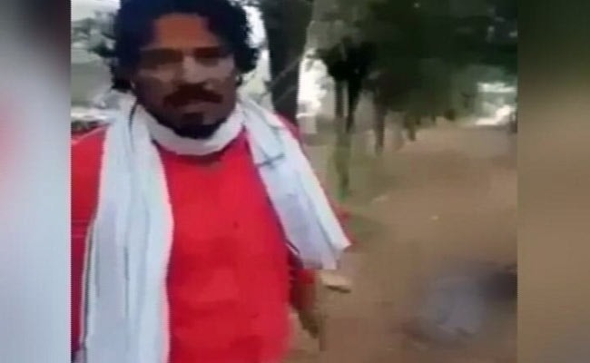 Chilling Murder In Rajasthan On Video. Man Hacks Labourer, Burns Him