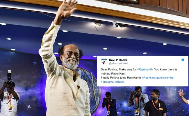 'Politics Joins Rajinikanth': Thalaivar To Float New Party, Tops Twitter