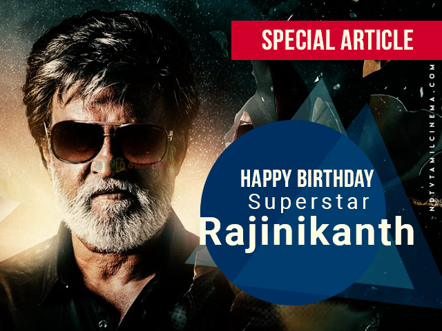 Superstar Rajinikanth Birthday