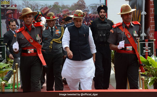 Pakistan Must Not Misinterpret India's 'Decency': Rajnath Singh
