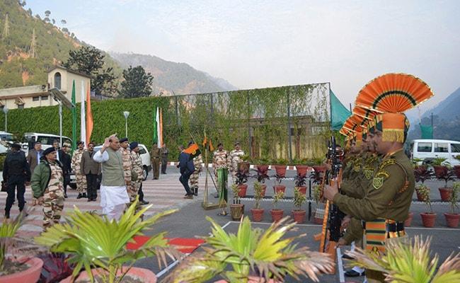 आईटीबीपी जवानों के संग नया साल मनाएंगे गृह मंत्री राजनाथ सिंह