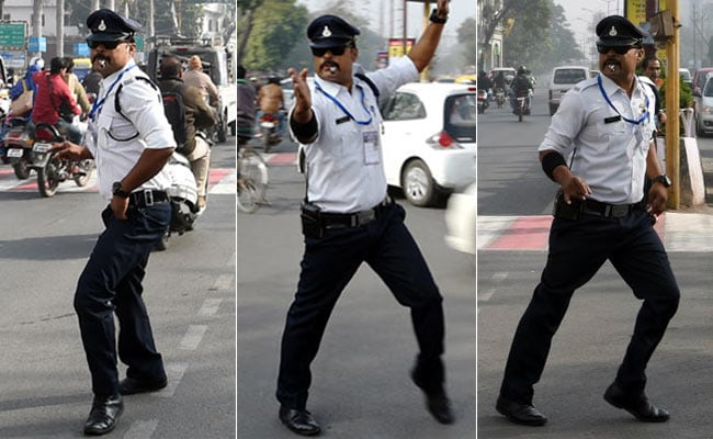 Ranjeet Singh Dancing Traffic Cop