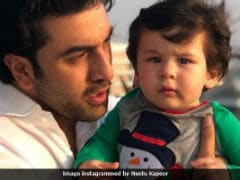 Viral: Ranbir Kapoor's Pic With Kareena's Son Taimur Is The Internet's Favourite