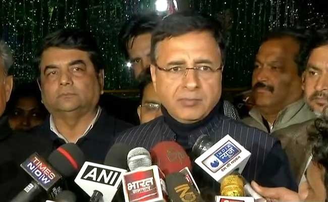 Congress Hits Back At BJP Over Lord Ram Charge