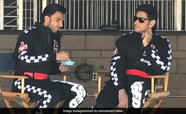 Viral: Ranveer Singh And Mahesh Babu In A Million Dollar Pic