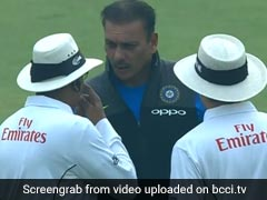 India vs Sri Lanka, 3rd Test: 'Angry' Ravi Shastri Marched On To The Field. Twitter Trolled Him