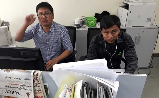 UN Chief Presses For Release Of Arrested Reuters Journalists In Myanmar
