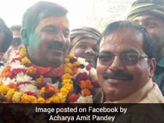 BJP's Rishikesh Upadhayay Elected First Mayor Of Ayodhya