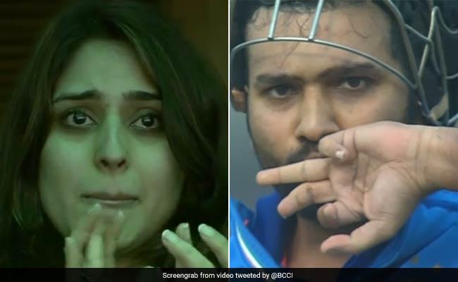 रोहित शर्मा ने शादी की सालगिरह पर दिया पत्नी को तोहफा, कुछ इस तरह छलके आंसू