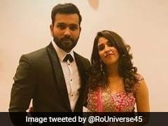 Virushka Wedding Reception: Rohit Sharma Dons Black Tuxedo For Captain's Event