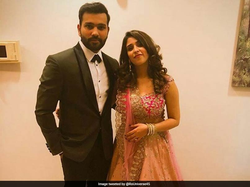 Virushka Wedding Reception: Rohit Sharma Dons Black Tuxedo For Captain
