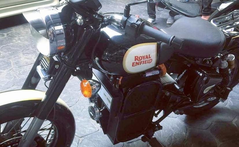 royal enfield classic 500 eléctrico