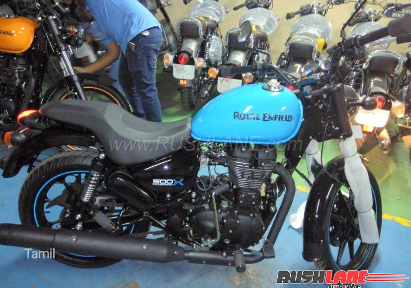 Royal Enfield Thunderbird 500X was spied last month | Pic Credit: Rushlane