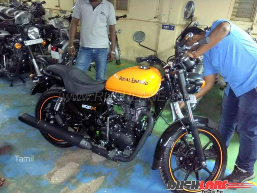 The Royal Enfield Thunderbird 500X gets cosmetic updates along with new features and equipment
