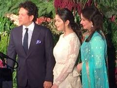 Virushka Wedding Reception: Sachin Tendulkar, Family Add To Glamour Quotient