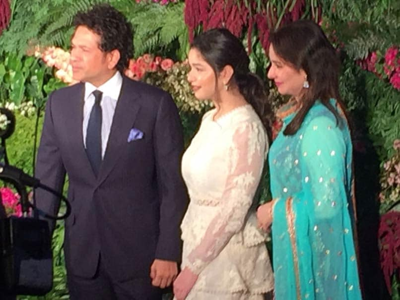 Virushka Wedding Reception: Sachin Tendulkar, Family Add To Glamour Quotient