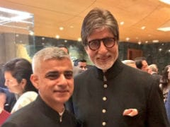 At Ambani Party, London Mayor Met 'Godfather Of Bollywood' (Amitabh Bachchan, Y'All)