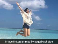 Don't You Wish You Were Sagarika Ghatge In This Pic?