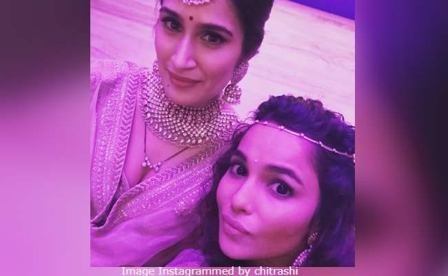 At Sagarika Ghatge's Wedding, A Chak De! Selfie Of Rivals Preeti And Komal