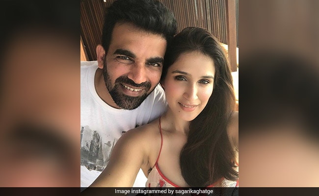 Sagarika Ghatge And Zaheer Khan Are Loved Up In Maldives. See More Pics