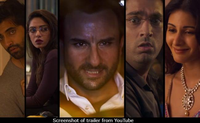 Kaalakaandi Trailer: Saif Ali Khan's Wild Bucket List