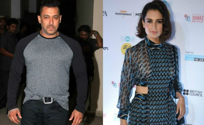 Kangana Ranaut Reportedly Needs Salman Khan's Clearance For The Title Of Her New Film