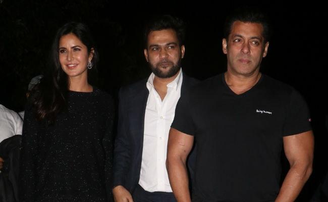 Inside Salman Khan's Birthday Celebrations With Katrina Kaif