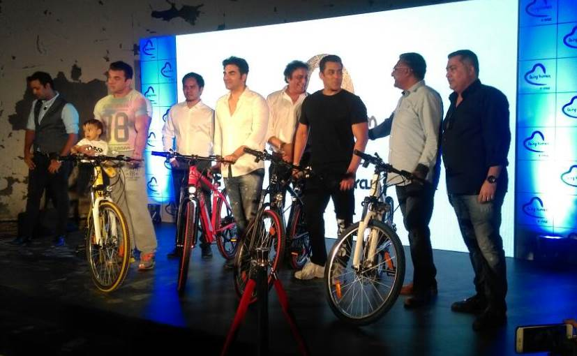 Salman has discussed the issue with Gadkari and is looking into aspects of manufacturing e-cycles.