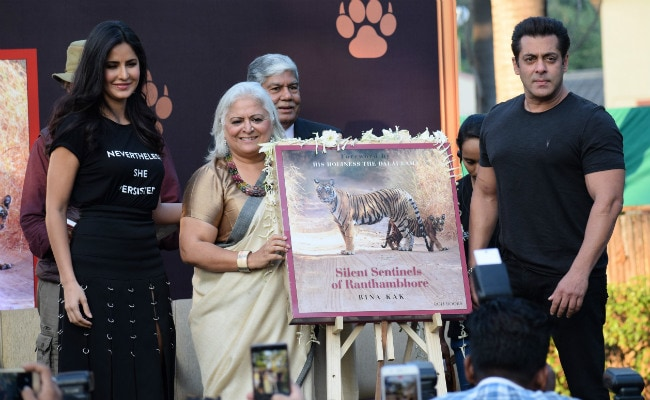 Salman Khan, Accused Of Poaching, Launched A Wildlife Book. The Irony Of It