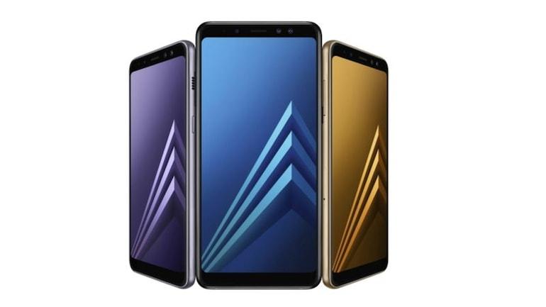 Samsung Galaxy A8 (2018) और Galaxy A8+ (2018) लॉन्च, इनमें हैं दो फ्रंट कैमरे