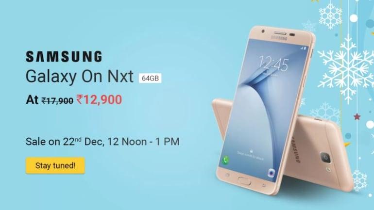 Samsung Galaxy On Nxt शुक्रवार को 4,000 रुपये सस्ते में मिलेगा