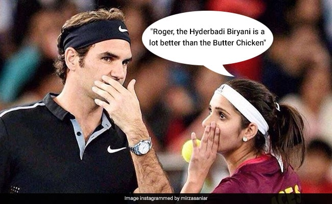 Sania Mirza Posts Pic With Federer. But Tabu's Comment Is Cherry On Top