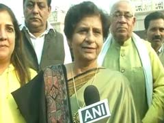 I'm Number One, Says Sanyukta Bhatia, Set To Be Lucknow's 1st Woman Mayor