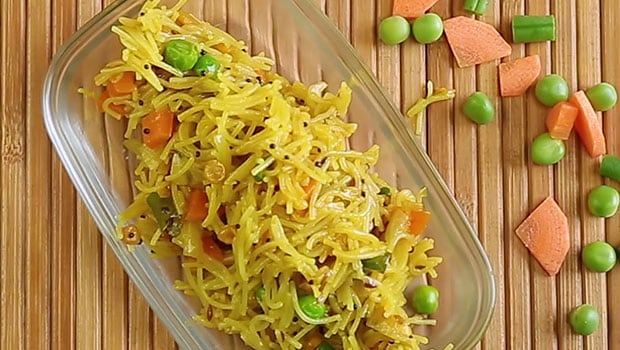 Semiya Upma Recipe Ndtv Food