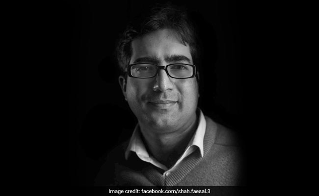 'Quit IAS, But Not Joining Any Political Party For Now:' Topper Shah Faesal
