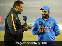 Rohit Sharma's Double Century Inspires Ravi Shastri To Become A TV Anchor Again