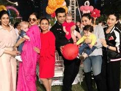 Rani Mukerji's Daughter Adira's Birthday Party: Shah Rukh Khan-AbRam, Kareena Kapoor-Taimur, Karan Johar-Roohi, Yash Had Fun