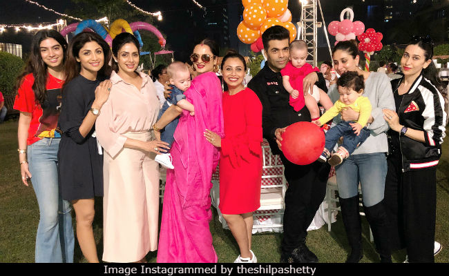 Rani Mukerji's Daughter Adira's Birthday Party Shah Rukh Khan-AbRam Kareena Kapoor-Taimur Karan Johar-Roohi Yash Had Fun