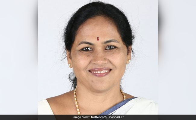 FIR Against BJP MP Shobha Karandlaje For 'Inflammatory' Tweets On Rape Of Dalit Girl