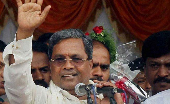 Narendra Modi 'Morally Not Fit' To Be PM, Says Siddaramaiah
